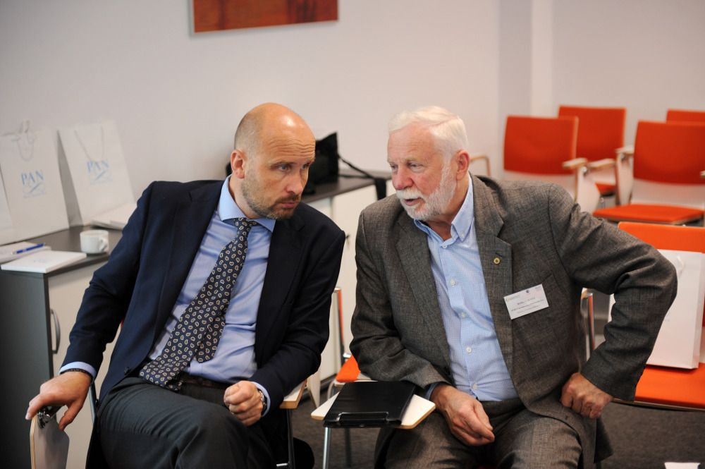 10. Minister Marcin Korolec and Mr Roman Długi