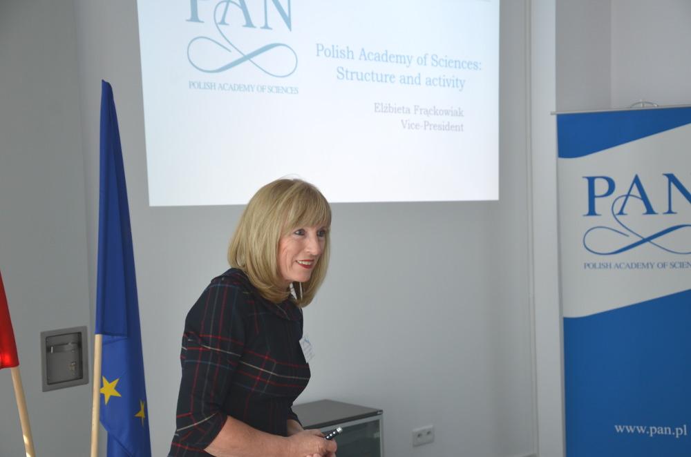 2. Prof. Elżbieta Frąckowiak Vice President of the PAS